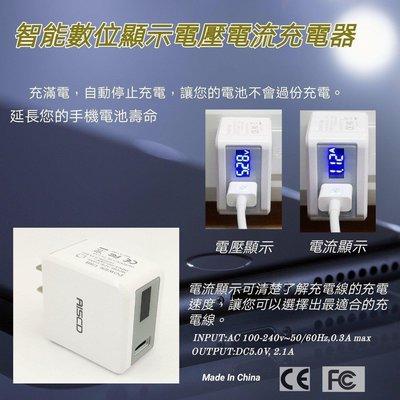 【現貨】智能數位顯示電流電壓充電器