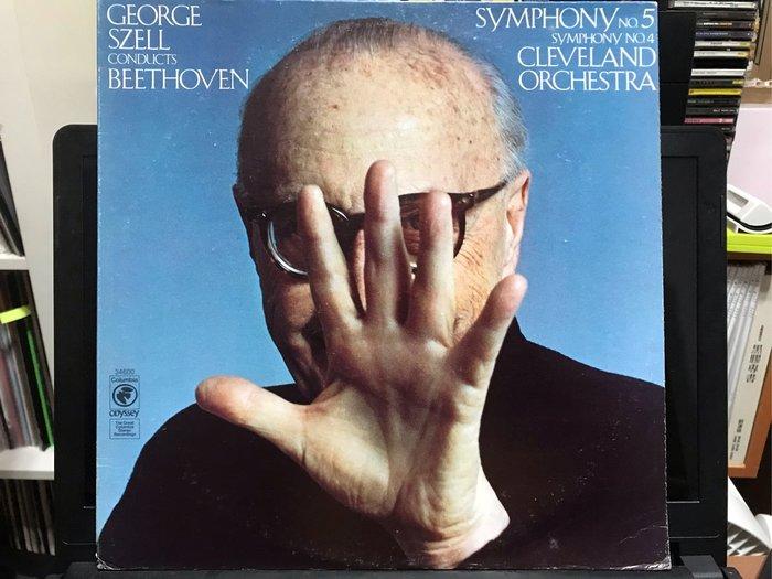 BEETHOVEN 貝多芬 SYMPHONY NO.5 . THE CLEVELAND ORCHESTRA GEORGE SZELL 黑膠唱片