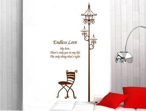 小妮子的家@路燈座椅壁貼/牆貼/玻璃貼/磁磚貼/汽車貼/家具貼