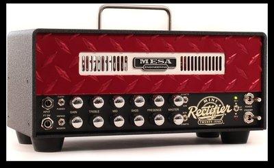 【加州旅店】全新現貨☆Mesa Boogie Mini Rectifier 25W/10/25瓦 真空管電吉他音箱頭-紅