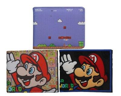 皮夾錢包 超級瑪利歐 任天堂 Super Mario 蘑菇馬力歐兄弟 動漫趣味創意交換生日禮品