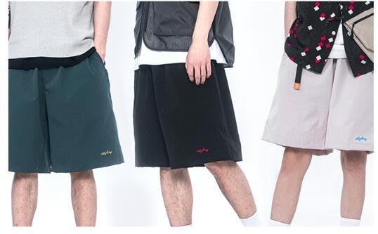 FINDSENSE X 時尚街頭流行 薄款休閒工裝短褲 多口袋 短褲多袋機能速幹運動男式短褲