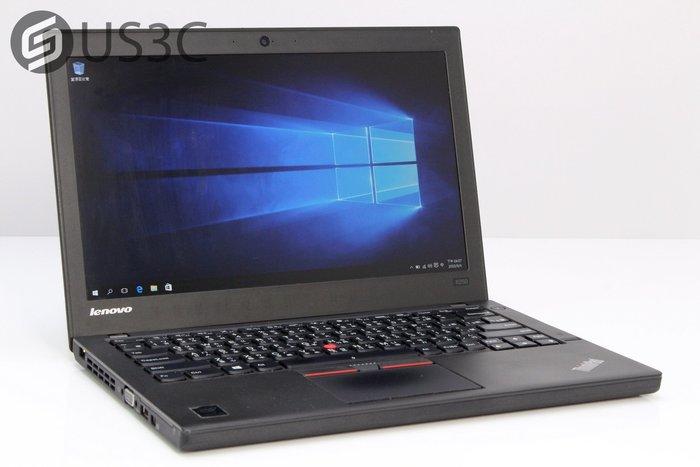 【US3C】聯想 Lenovo X250 12吋 商務筆電 i5-5200U 8G 240G SSD 二手筆電 雙電池