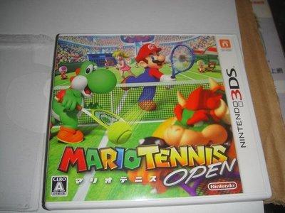 3DS 瑪利歐網球 公開賽 Mario Tennis Open 日版(中古)