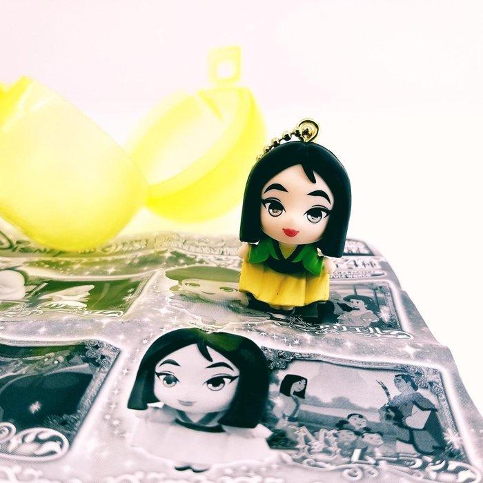 【值得收藏商品】日本迪士尼商品 扭蛋角色~花木蘭公仔吊飾
