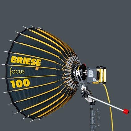 凱西影視器材 Briese light Focus.2 100cm+燈頭套組/全球最頂級棚燈系統