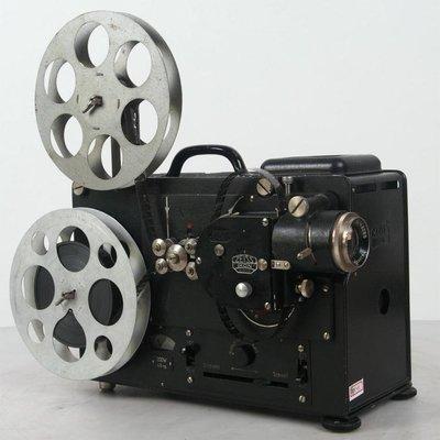 百寶軒 德國古董蔡司ZeissIkon16毫米16mm電影機放映機功能正常110V ZG3337