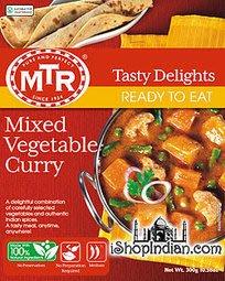 印度蔬菜咖哩調理包 MTR Mixed Vegetable Curry