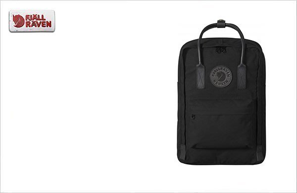 WaShiDa【KN23568】FJALLRAVEN × Kanken Laptop No.2 暗黑 15吋 皮革電腦包