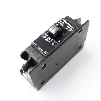 用於分支電路的BV-C1,2P1E 30A 15mA漏電斷路器(三菱電機) 中古 二手 用於分支電路的BV-Cl,2PlE 用於分支電路的BV-CI,2PIE