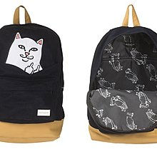 { POISON } RIPNDIP LORD NERMAL BACKPACK 中指貓後背包 Rip N Dip