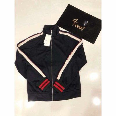 [4real] Gucci 經典 側邊Logo 運動外套
