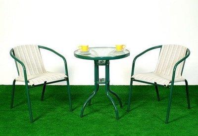 戶外網布椅【一桌 二椅】大台中地區免運費