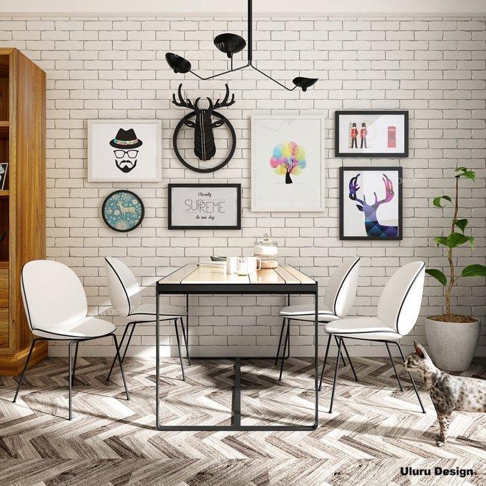 北歐風格 loft輕工業風 麋鹿/實木相框 組合掛畫 組合畫 立體裝飾 客廳 主牆 相片牆 牆壁掛飾 牆上裝飾 客廳牆