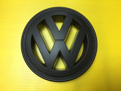 VW 福斯 LOGO MARK 水箱罩標誌 TIGUAN TSI TDI 前標+後標  全霧黑/消光黑