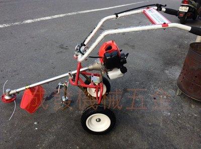 ㊣成發機械五金批發㊣迷你 三輪 手推式 引擎 割草機 TB-43 除草機 非小松 三菱 本田