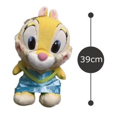 迪士尼冰雪奇緣版 奇奇蒂蒂 克莉絲 正版景品日本帶回絨毛玩偶娃娃