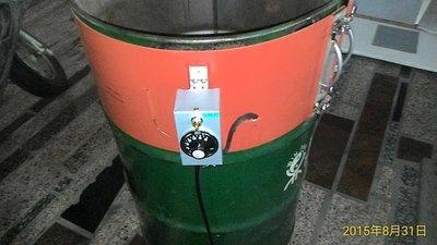 50加侖 200L油桶 加熱器 200公升 200L 矽膠加熱器 工業用可訂製 工廠直營可訂製無現貨