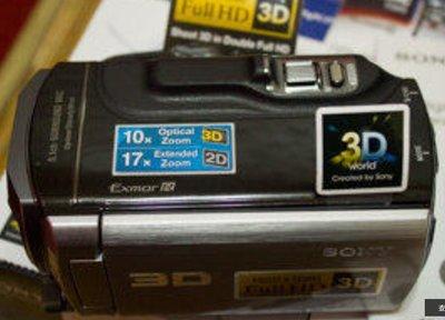 二手 SONY TD10 插卡式 3D 攝影機 取代TD20 TD30