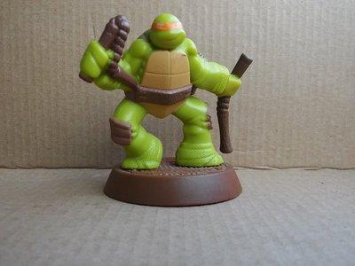 2013年麥當勞忍者龜 硬質塑膠玩偶