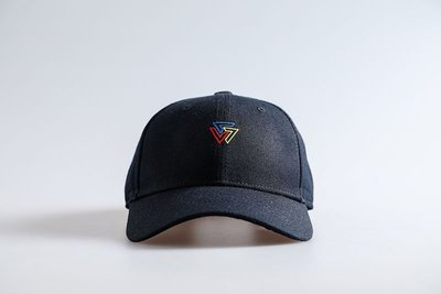 SQUAD 2019 S/S Colored Triangle Logo Old Cap 彩色三角老帽 黑色