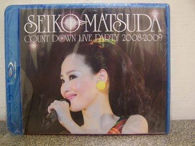 【藍光BD】870. 松田聖子 SEIKO MATSUDA COUNT DOWN LIVE PARTY 2008-2009 跨年演唱會,全新