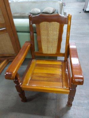 巨業搬運寄倉=更新二手倉庫 木頭沙發 單人沙發 藤椅