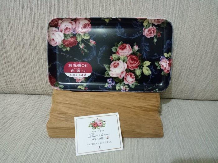 天使熊雜貨小舖~日本海渡Penser a la rose 置物盤  全新現貨