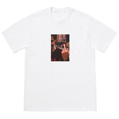 Supreme 18FW Blessed DVD 短袖 TEE