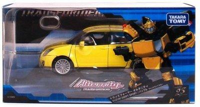 全新 變形金剛 Alternity SUZUKI SWIFT SPORT A-03 黃色 BUMBLE BEE 大黃蜂
