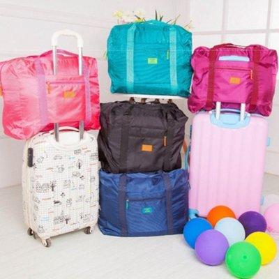 [愛雜貨]韓版 35L 超大容量 收納袋 收納包 超輕量 旅行 折疊  旅行袋 手提袋 出差 萬用