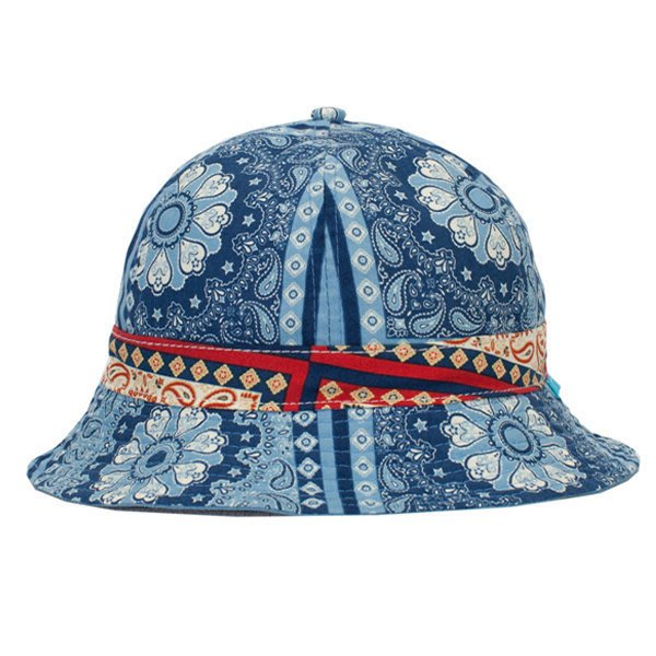 #CbP / PRETTYNICE Bandana Reversible Bucket Hat - 藍 變形蟲漁夫帽
