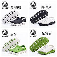 【兩雙免運3雙95折】Crocs卡駱馳Duet運動迪特 男女情侶款 洞洞鞋 沙灘鞋 涼鞋