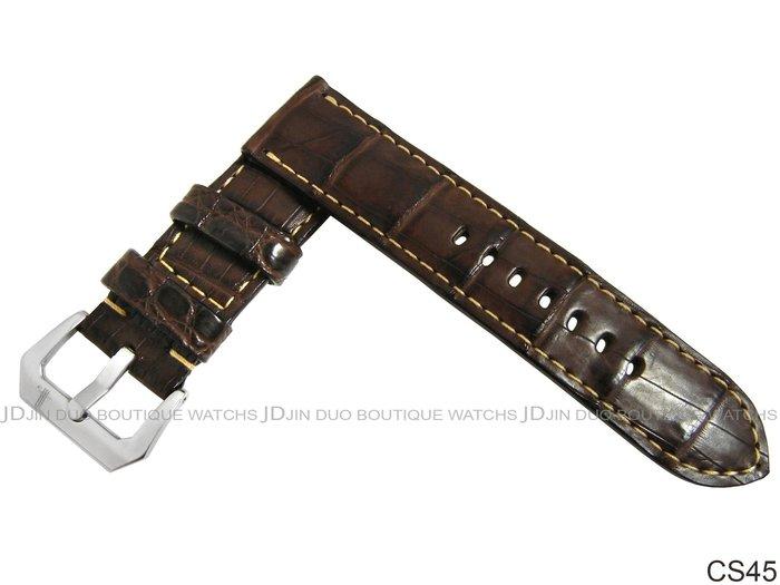 金鐸精品~CS45 沛納海 PANERAI 勞力士 ROLEX OMEGA Bell&Ross..等各式手工客製化皮錶帶