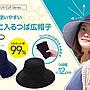 【蘇菲的美國小舖】日本COOL 防曬帽 可折疊...