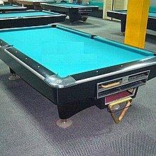 ☆╮☆中古.二手.亞力士4代 928 撞球台 黑色系列撞球桌廉售16000(營業專用的撞球檯)