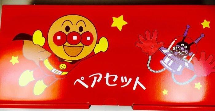 東京家族 日本製 麵包超人 碗 杯子餐具組