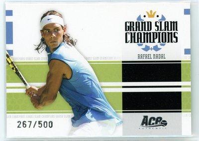 RAFAEL NADAL 2005 ACE Signature Series #GS-5 西班牙19冠蠻牛納達爾限量特卡