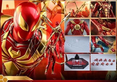 Hot Toys Marvel's Spider-Man(Iron Spider Armor) -VGM38-
