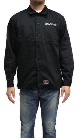 (I LOVE樂多)BEN DAVIS 工裝 工作服 長袖 襯衫 美式復古