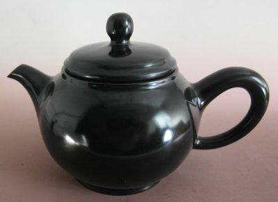 金牛礦晶.茶壺【黑膽石心 石壺L47#】vqq-4