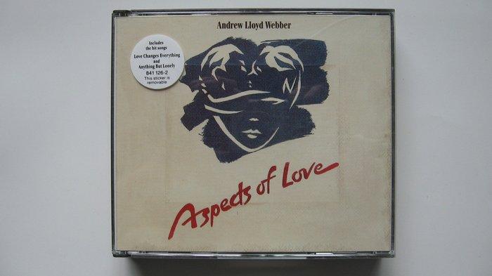 Aspects of Love 安德列洛伊韋伯作品 1989 The Original London Cast自藏雙CD