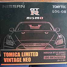 TOMICA LOG ON 限定 NISSAN GT-R NISMO 2017 MODEL