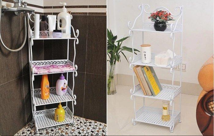【易發生活館】新品置物架落地層架隔板創意書架客廳廚房收納儲物架子