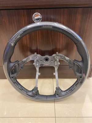 Ix35黑皮黑線方向盤專業換皮客製化