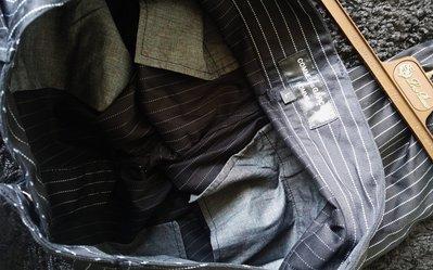 2015秀款 CDG【COMME des GARCONS 】Homme Plus川久保玲深黑細條紋西裝長褲