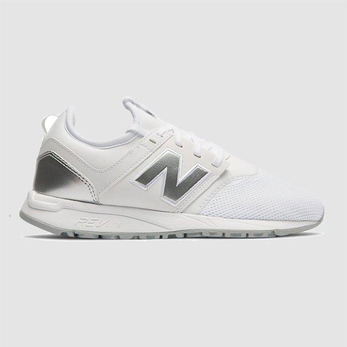 【QUEST】NEW BALANCE 247 白色 白銀 銀色 慢跑鞋 休閒鞋 女鞋 韓妞 韓國 WRL247SA