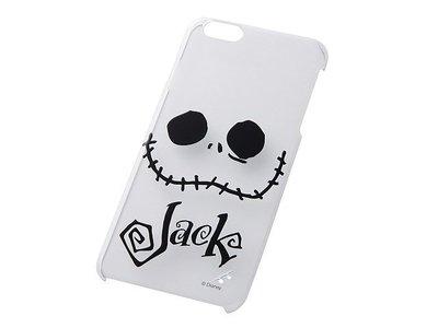 尼德斯Nydus~* 日本 迪士尼 聖誕夜驚魂 傑克 JACK 硬殼 手機殼 透明 大臉款 5.5吋 iPhone6+
