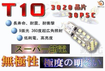 鈦光Light T10 3020 30晶 LED 燈泡 9面發光照射無死角TSX.FOCUS.TIERRA.ESCAPE
