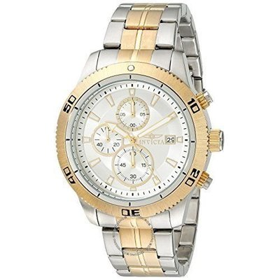 Invicta  Specialty 17441  Stainless Steel Chronograph  Watch